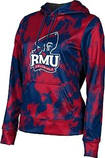 Robert Morris University Women's Pullover Hoodie, School Spirit Sweatshirt (Grunge)