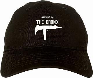Welcome to The Bronx Uzi Machine Gun New York City 6 Panel Dad Hat Cap