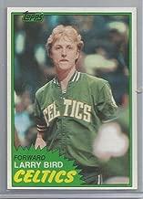 1981-82 Topps Basketball Larry Bird Card # 4 Near Mint
