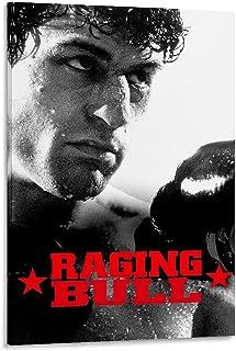 Raging Bull Film Poster Poster Decoratief Schilderen Canvas Muur Art Woonkamer Posters Slaapkamer Schilderen 20x30 inch (5...