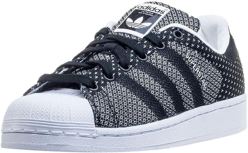 adidas Superstar Weave, Superstar Weave femme - Noir - Noir/blanc ...