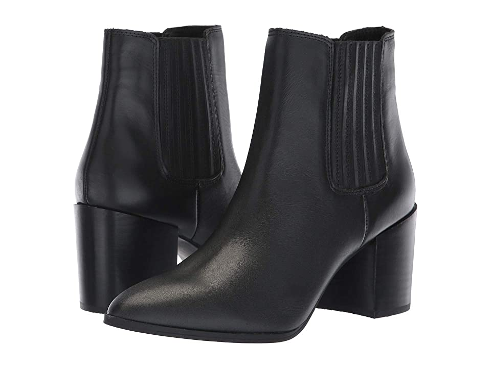 Steve Madden Jain (Black Leather) Women