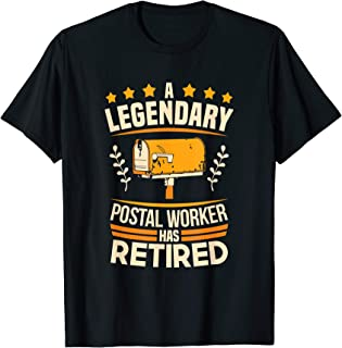 Post Office Retiree Celebration Retired Postal Worker Tee