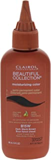 Clairol Professional Beautiful Collection Semi-permanent Hair Color, Dark Warm Brown, 3 ounce
