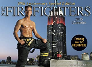 2015 New York City Firefighters Calendar 20th Anniversary