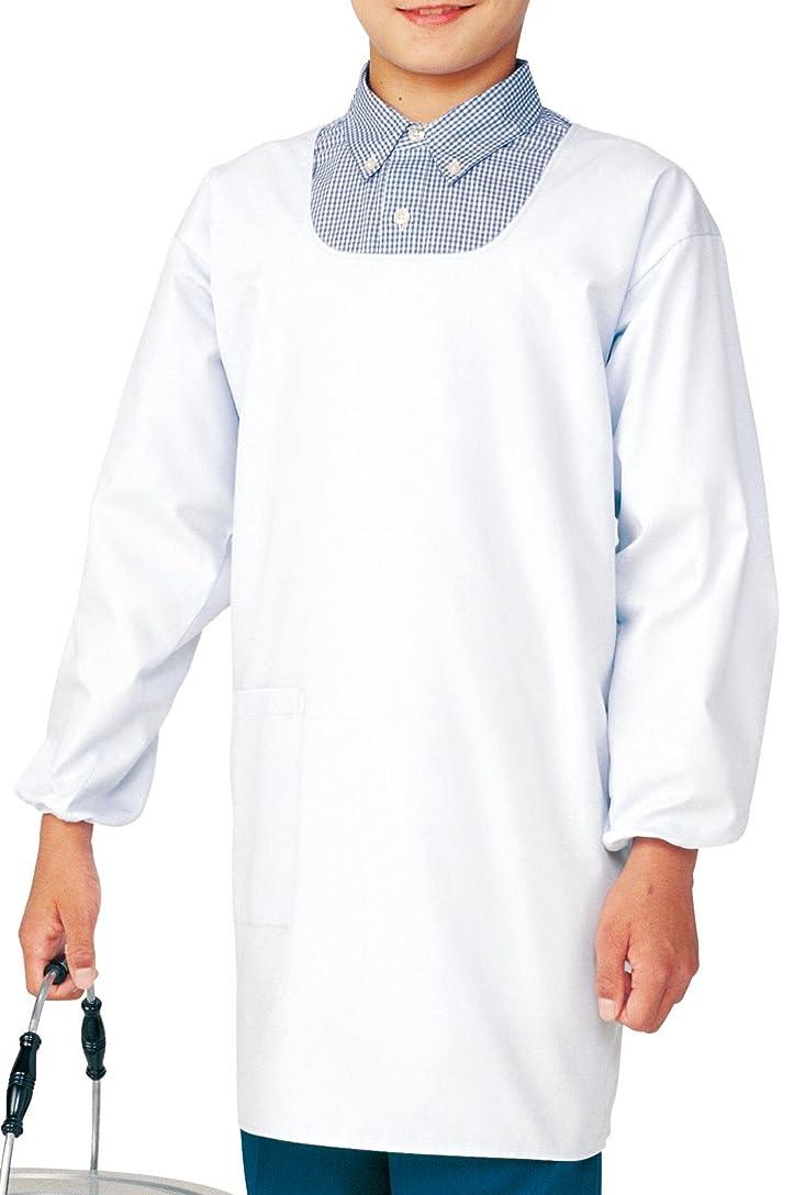 レジデンス換気するエンジニアKAZEN カゼン 給食衣(後マジック)4~6号 394-90(ホワイト) サイズ:6号