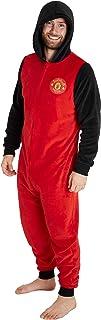 Manchester United F.C. Mens Onesies Fleece Mens Pyjamas, Football Gifts for Men