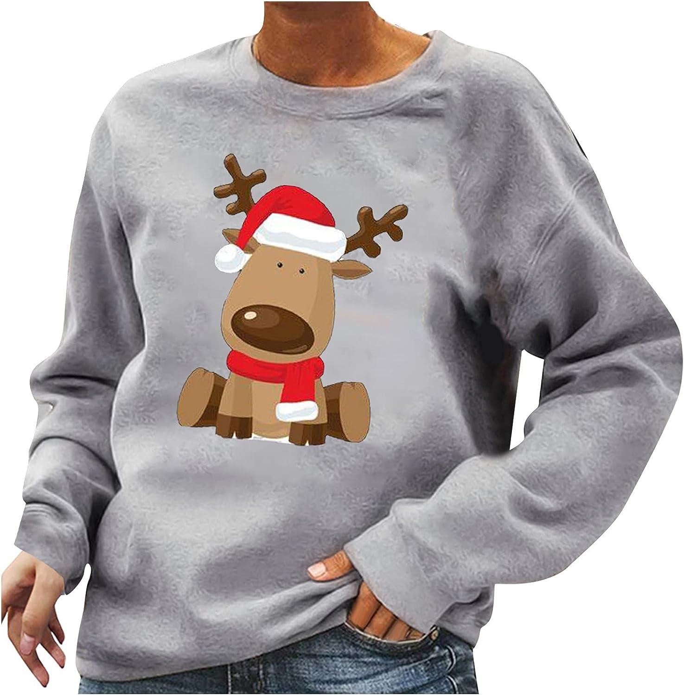 Long Sleeve Halloween Crewneck Sweatshirt Tops I D Albuquerque Mall Women For Fashionable Can