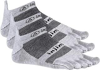 Injinji Run 2.0 Lightweight No-Show Toe Socks