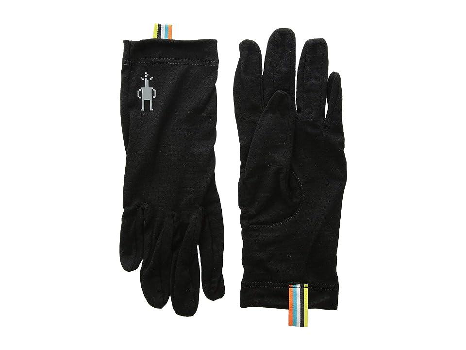 Smartwool Kids Merino 150 Gloves (Little Kids/Big Kids) (Black) Over-Mits Gloves