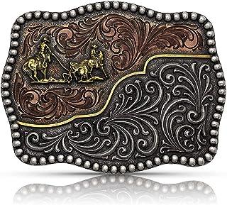 Montana Silversmiths Ranch Rodeo Series Attitude Western Belt Buckle