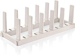 Tescoma 899482 FlexiSpace - Soporte para sartenes, color blanco