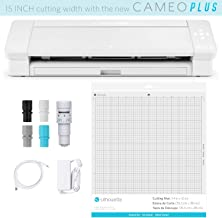 """Silhouette Cameo 4 Plus 15 Inch Version - 15"""" Cutting Mat, Power cords, Built in Roll Feeder, Silhouette Studio Software"""
