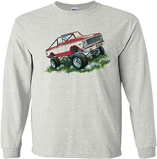 Chevrolet Red Blazer K5 K5 4x4 GMC Long Sleeve T-Shirt