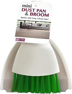 Evriholder MDPB06-AMZ B01MQRHLNY Mini Dust Pan & Broom, Red/Green