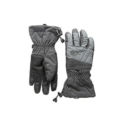 The North Face Kids Montana Gore-Tex(r) Gloves (Big Kids) (Graphite Grey/TNF Medium Grey Heather) Extreme Cold Weather Gloves