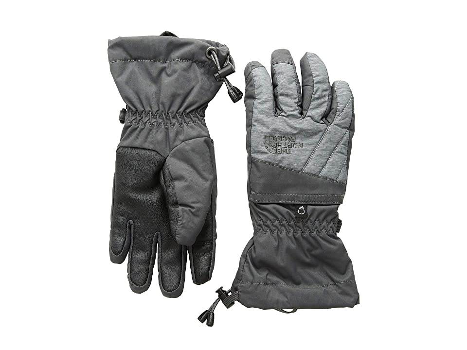 The North Face Kids Montana Gore-Tex(r) Gloves (Big Kids) (Graphite Grey/TNF Medium Grey Heather) Extreme Cold Weather Gloves