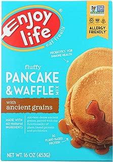 Enjoy Life Baking Mix - Pancake and Waffle - Gluten Free - 16 oz - case of 6 - Gluten Free - Dairy Free - Wheat Free-Vegan
