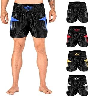 muay thai shorts blue