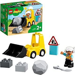 LEGO DUPLO Town Bulldozer 10930 building set, Preschool Toy for Toddlers 2+ years old (10 pieces)