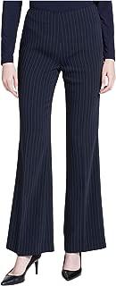 Calvin Klein Women's Flared Pinstripe Pants