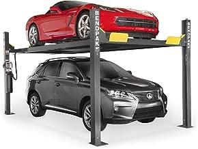 BendPak 4-Post Extra-Tall Car Lift - 9000-Lb. Capacity, Gray, Model Number HD-9XW