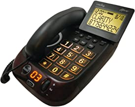 Clarity AltoPlus Amplified Corded Phone - 54505.001, Black photo