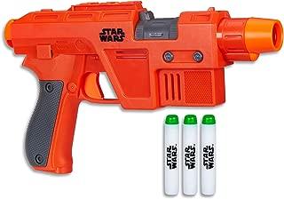 STAR WARS - Poe Dameron NERF Blaster + 3 Elite Darts - Kids Dress Up Toys - Ages 8+
