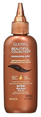 Clairol Beautiful Collection #B175W Wine Brown 3 Ounce (88ml) (3 Pack)