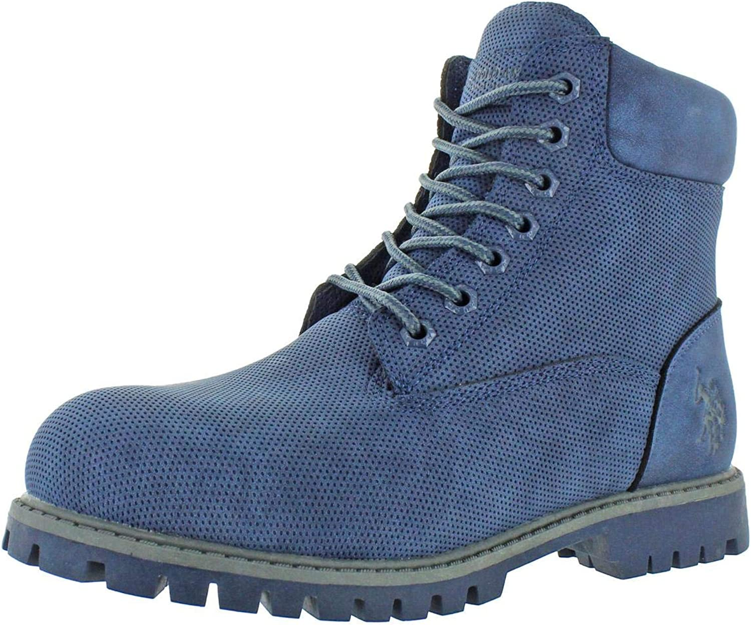 U.S. Polo Assn. Mens Owen High Padded Insole Round Toe Hiking Boots