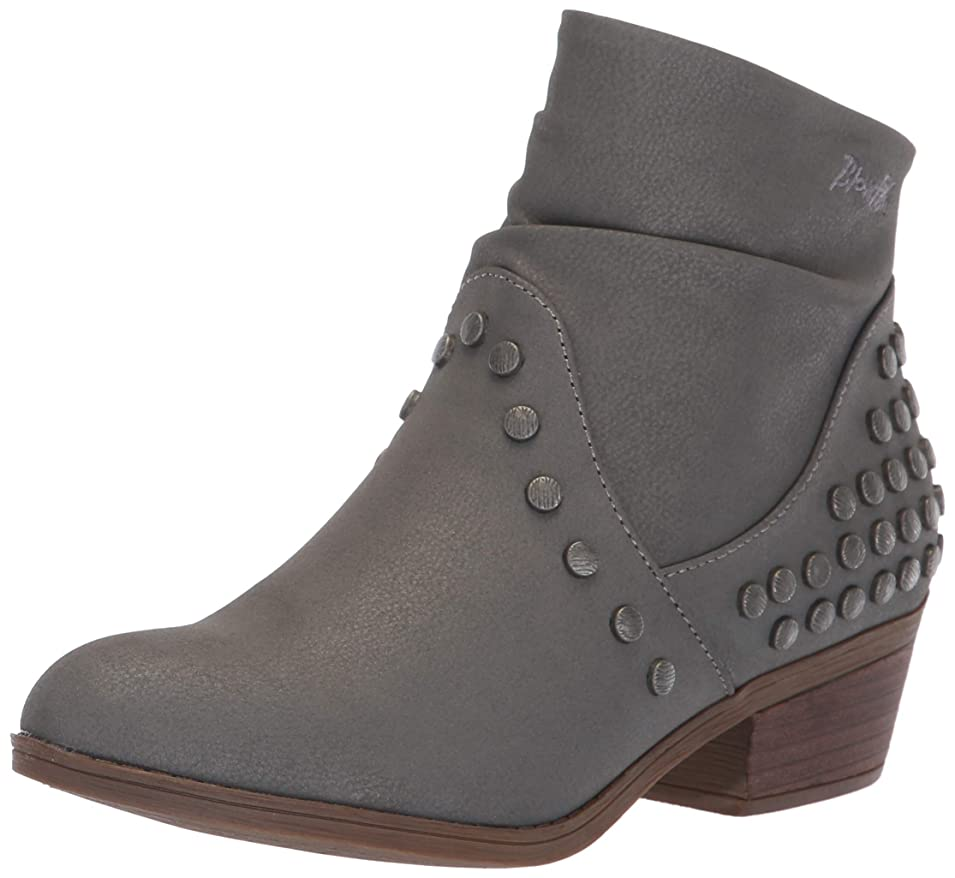 要求一月破滅Blowfish Women's Salinas Faux Leather High-Top Boot