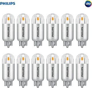 Philips LED 463448 7 Watt Equivalent Soft T5 Wedge Capsule, 12 Pack, 7W, Bright White, 12 Piece