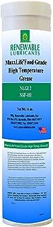 Renewable Lubricants MaxxLife Food Grade High Temperature NLGI 2 Grease, 14 oz Tube