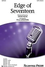 Edge Of Seventeen SATB