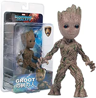 15cm Tree Man Groot Action Figure Toy PVC MV Movie Hero Model Doll Toy Guardians of the Galaxy Boy Gift