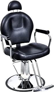 BarberPub All Purpose Hydraulic Barber Chair Salon Spa Styling Equipment 9838 Black