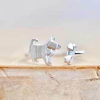 origami dog bone