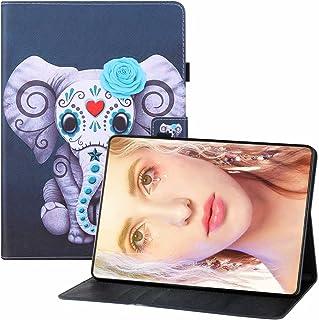 CRABOT Compatibel met Huawei T3-10 Tablet Case Flip Portemonnee Lederen Volledige Bescherming Shockproof Anti-Kras Kaartsl...