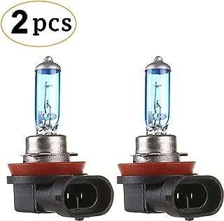 CK FORMULA (Set of 2) H11 Halogen Headlight Bulbs (Low Beam) 12V 100W 5000K Super White, PGJ19-2 Base