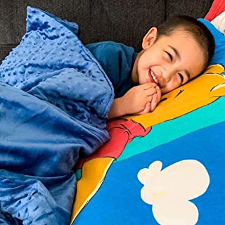 Huggaroo 7 lb Weighted Blanket – Weighted Lap Pad – Weighted Throw – Weighted Lap Blanket – Perfect for Sleeping and Relax...
