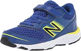 New Balance Kids' 680 V6 Alternative Closure Running Shoe