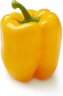 Yellow Bell Pepper, One Medium