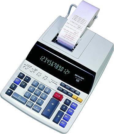 $64 Get Sharp EL-1197PIII Heavy Duty Color Printing Calculator with Clock and Calendar