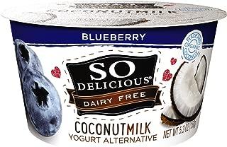 So Delicious Dairy Free Coconutmilk Yogurt Alternative, Blueberry, 5.3 oz