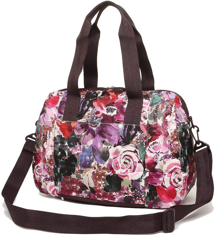 LeSportsac Harmony Floral Harper Congreenible Crossbody & Top Handle Tote Handbag Carryon