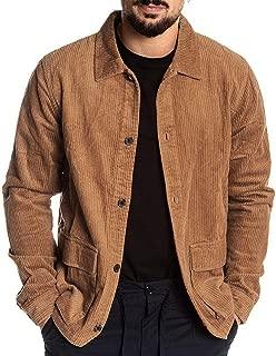 Sunward Coat for Men,Mens Autumn Coat Casual Long Sleeve Solid Tops Corduroy Casual Blouse