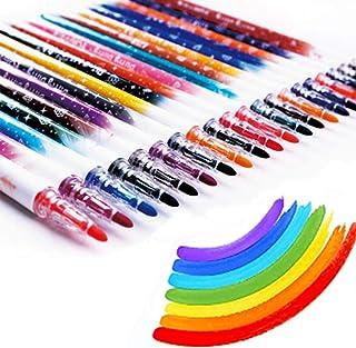 Colored Pens Fine Tip Markers Pens Washable Watercolor pens Set Pens Set with Storage Case for Kids Adult Coloring Books J...