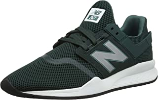 New Balance Men's 247 Mesh Trainers, Green, 7.5 US