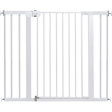 Safety 1st Easy Install Extra Tall And Wide Baby Gate With Pressure Mount Fastening Pack Of 1 Baby