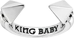 King Baby Studio - Open Ring w/ Pyramids